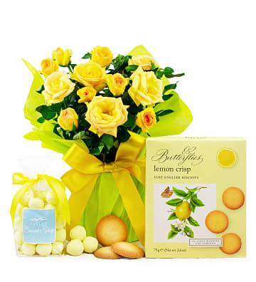 Lemon Rose Plant Gift