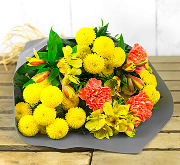 Free flower delivery on Glowing Grace