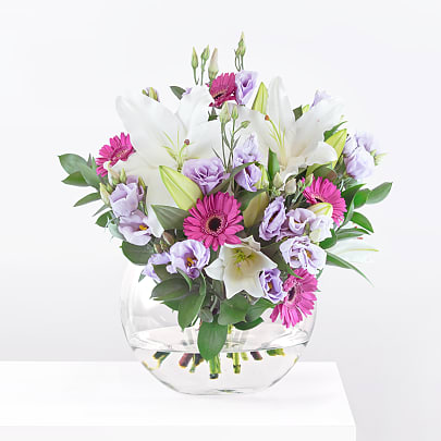 Free delivery on Lilies with Love