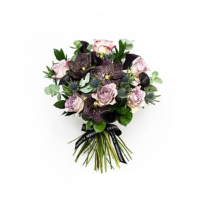 Free delivery on Orchid Rose & Lily Noir