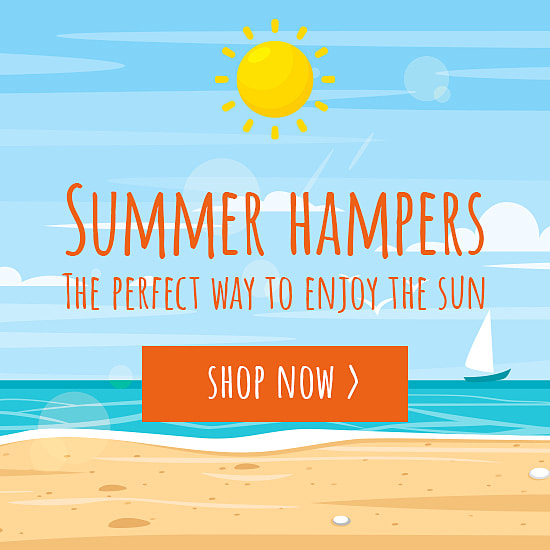 up to 50% off hampers and gifts