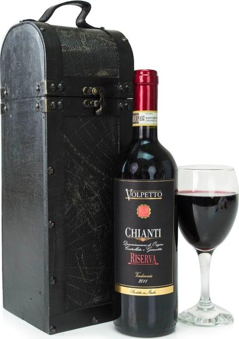 Wine & Wooden Case