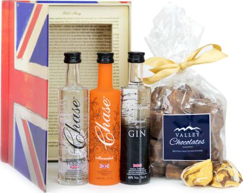 British Gin and Chocolate