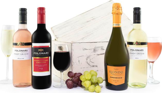 Luxurious Italian Wine Set