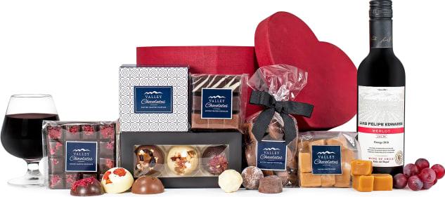 Luxury Chocolate Hat Box Gift