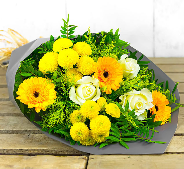 Free flower delivery on Golden Avalanche
