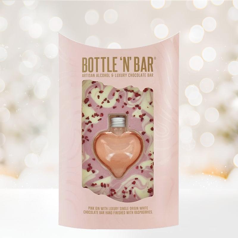 Bottle 'N' Bar Heart Pink Gin