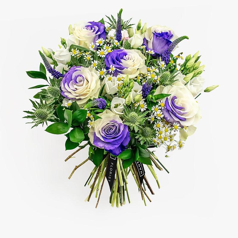 Azure Blue Roses
