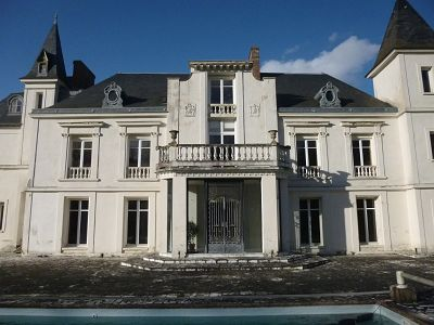 Image 1   10 bedroom French chateau for sale with 4 hectares of land, 50km west of Paris, Eure-et-Loir , Centre 130464
