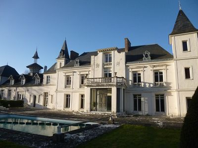 Image 3   10 bedroom French chateau for sale with 4 hectares of land, 50km west of Paris, Eure-et-Loir , Centre 130464