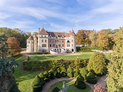 Image 1   18 bedroom French Chateau for sale, 1 hour drive West of Paris 179629