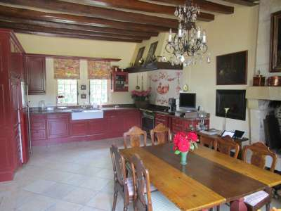 Image 10   Charming Loire Chateau for Sale with 10 bedrooms near Tour 187257