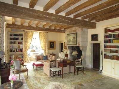 Image 7   Charming Loire Chateau for Sale with 10 bedrooms near Tour 187257