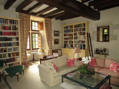Image 9   Charming Loire Chateau for Sale with 10 bedrooms near Tour 187257