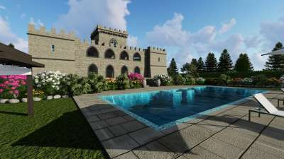 Image 1   6 bedroom castle for sale with 0.63 hectares of land, Pisa, Tuscany 191280