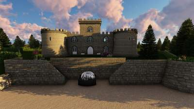 Image 2   6 bedroom castle for sale with 0.63 hectares of land, Pisa, Tuscany 191280