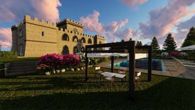 Image 3   6 bedroom castle for sale with 0.63 hectares of land, Pisa, Tuscany 191280