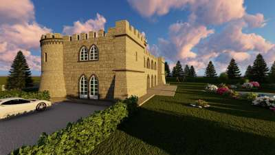 Image 4   6 bedroom castle for sale with 0.63 hectares of land, Pisa, Tuscany 191280
