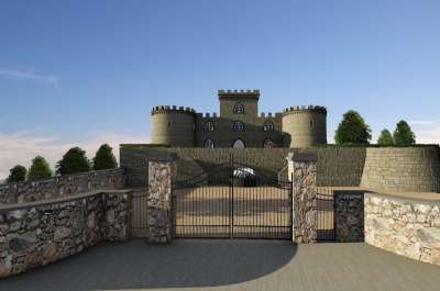 Image 5   6 bedroom castle for sale with 0.63 hectares of land, Pisa, Tuscany 191280