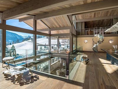 The Ultimate Luxury Ski Chalet in Megeve in the Alps