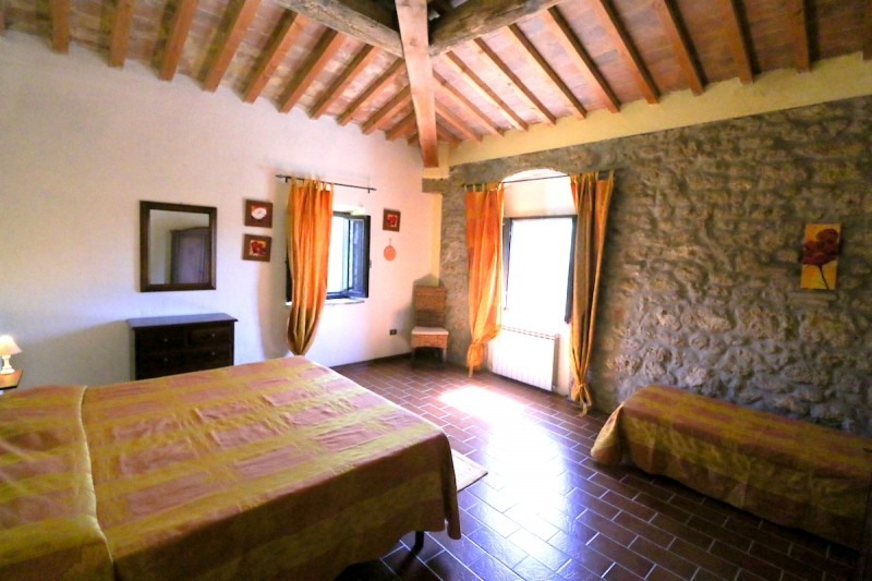 Image 2   9 bedroom farmhouse for sale with 2 hectares of land, Montecatini Val di Cecina, Pisa, Tuscany 195716