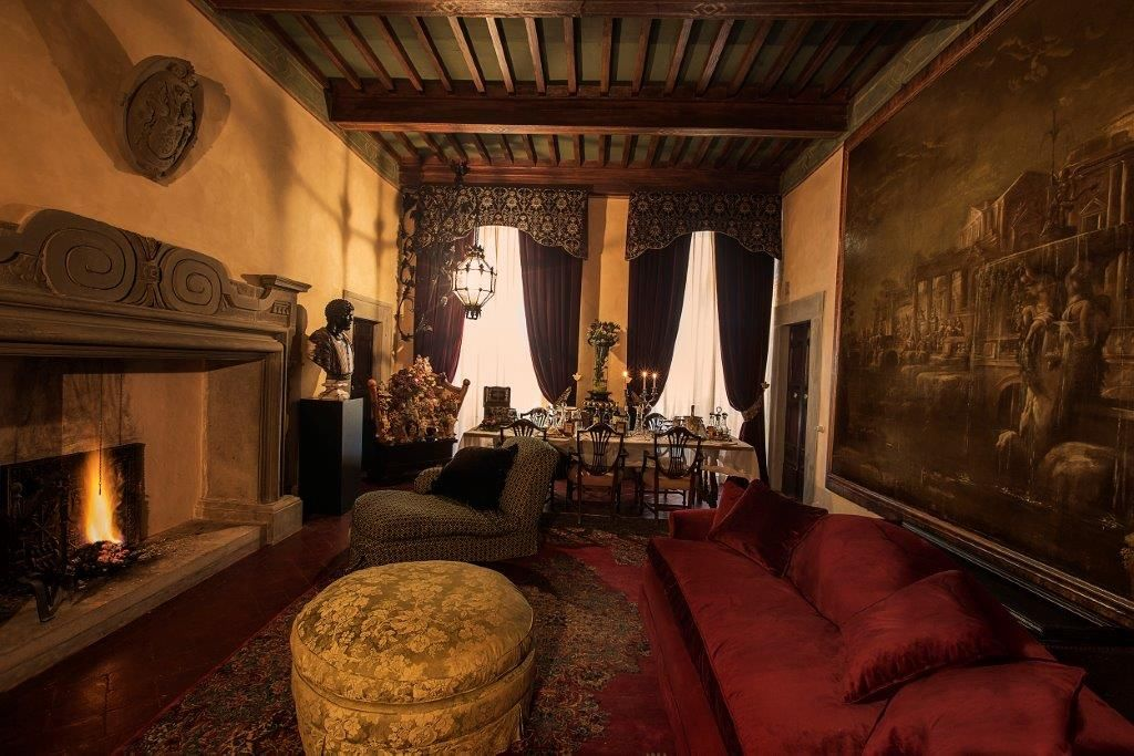 Image 6   Magnificent 6 bedroom apartment for sale in a palace in the heart of Cortona   195745