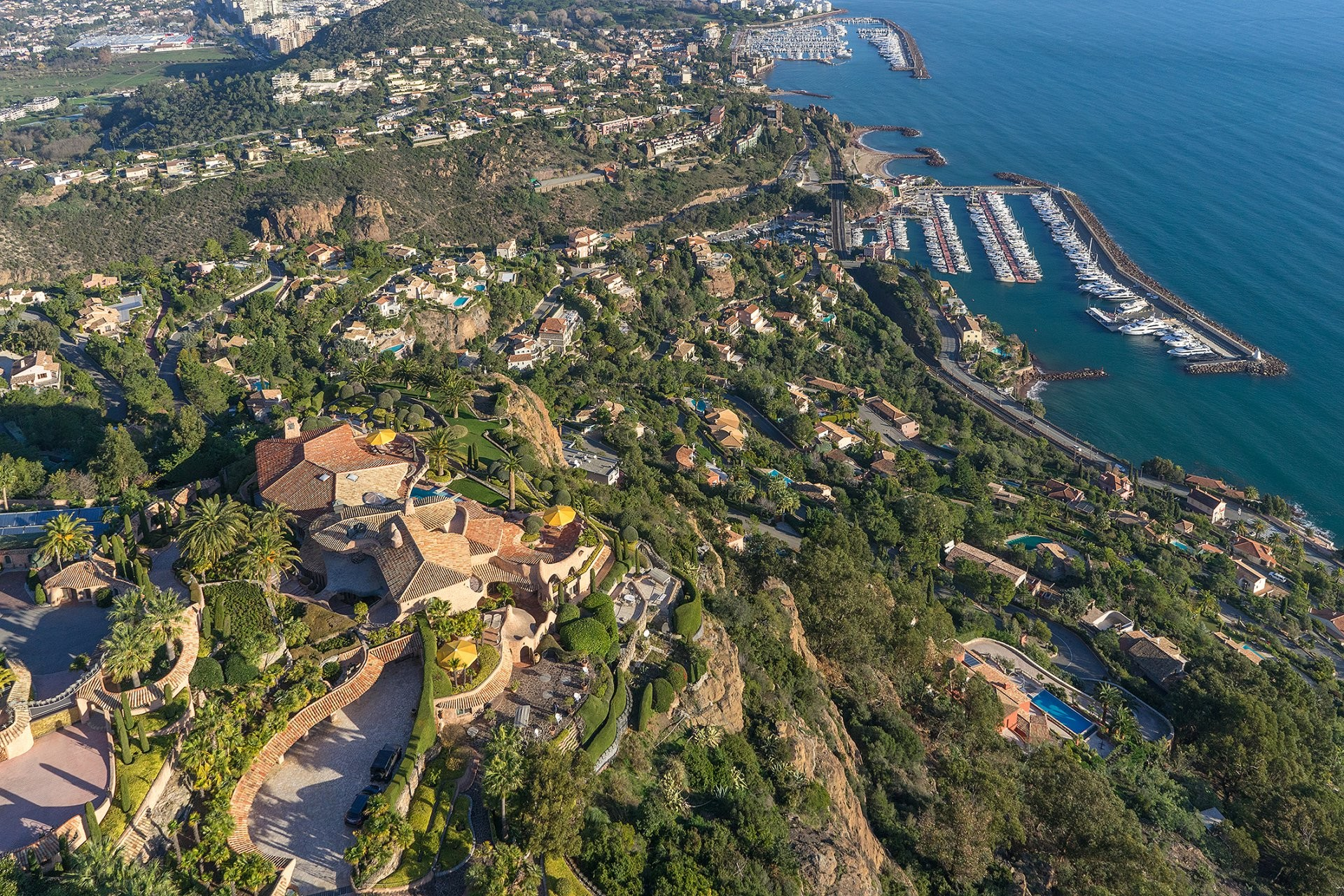 Image 5   13 bedroom villa for sale with 2.38 hectares of land, Theoule sur Mer, Alpes-Maritimes 6, French Riviera 195962
