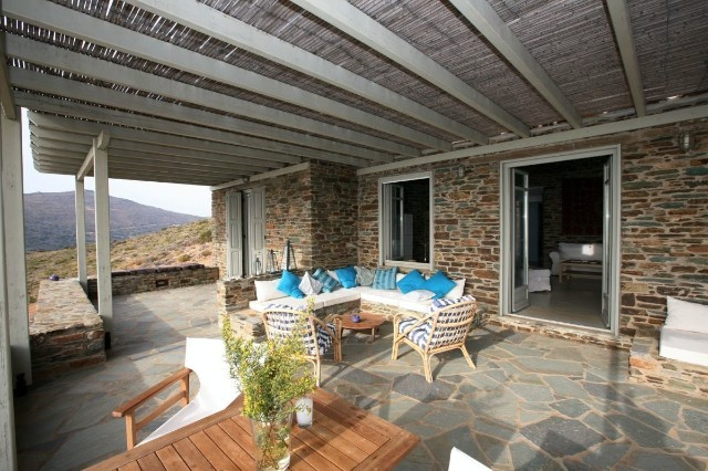 Image 5 | 4 bedroom villa for sale with 0.43 hectares of land, Andros, Cyclades Islands 196103