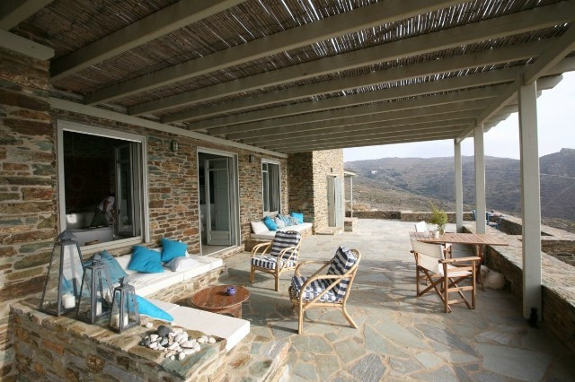 Image 7 | 4 bedroom villa for sale with 0.43 hectares of land, Andros, Cyclades Islands 196103