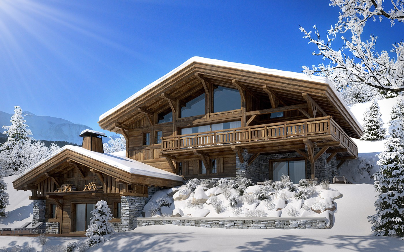 Image 1 | 6 bedroom ski chalet for sale, Rochebrune, Megeve, Haute-Savoie , Rhone-Alpes 197487