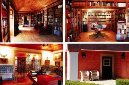 Image 3   Beautiful restored hunting lodge for sale in Sintra, Portugal with over 2 hectares of land 198387