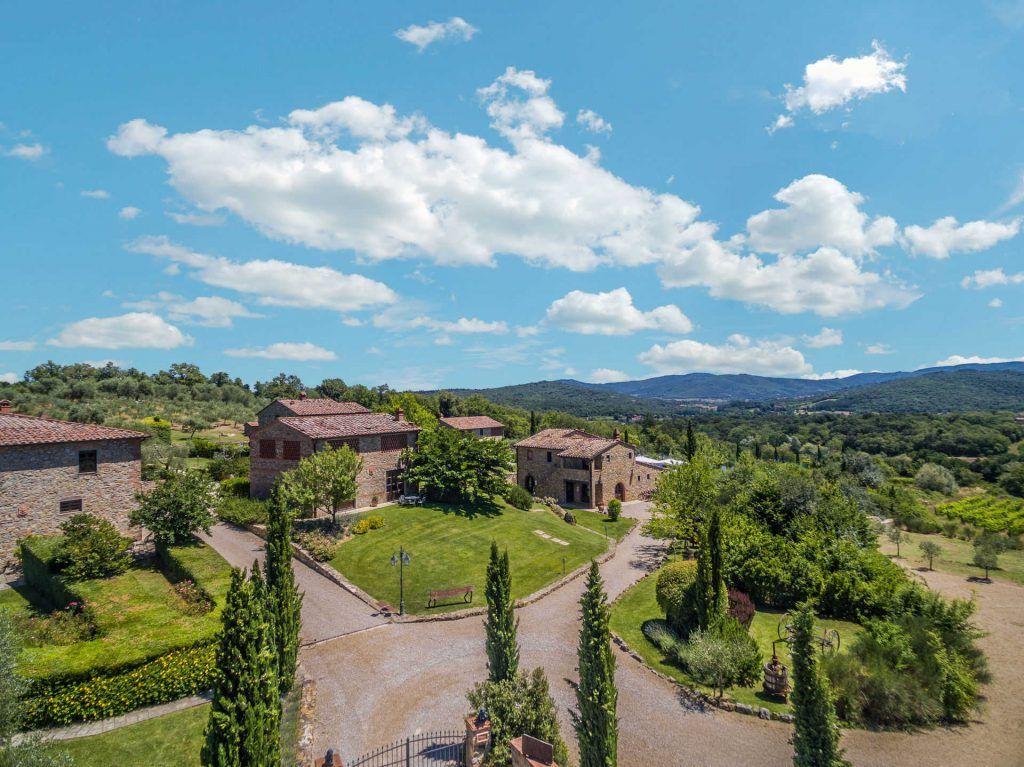 Image 10 | Prestigious Estate with a total of 80 bedrooms for sale, located in Bucine, Arezzo 200986