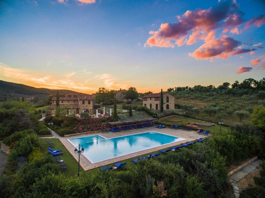 Image 12 | Prestigious Estate with a total of 80 bedrooms for sale, located in Bucine, Arezzo 200986