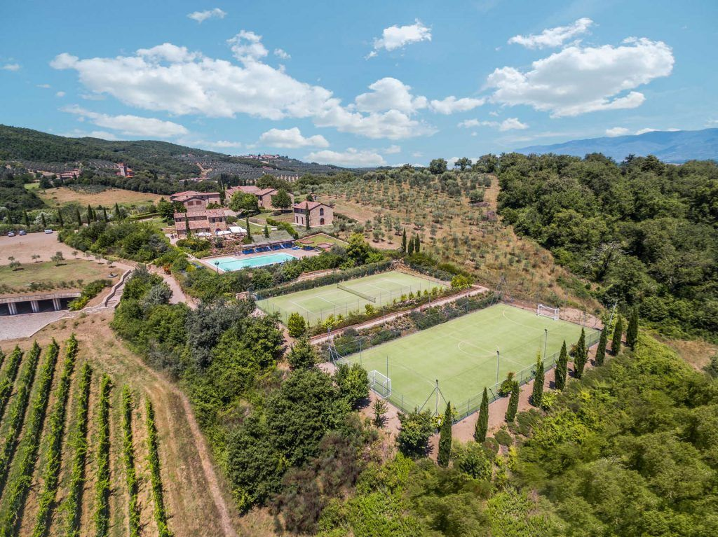 Image 9 | Prestigious Estate with a total of 80 bedrooms for sale, located in Bucine, Arezzo 200986