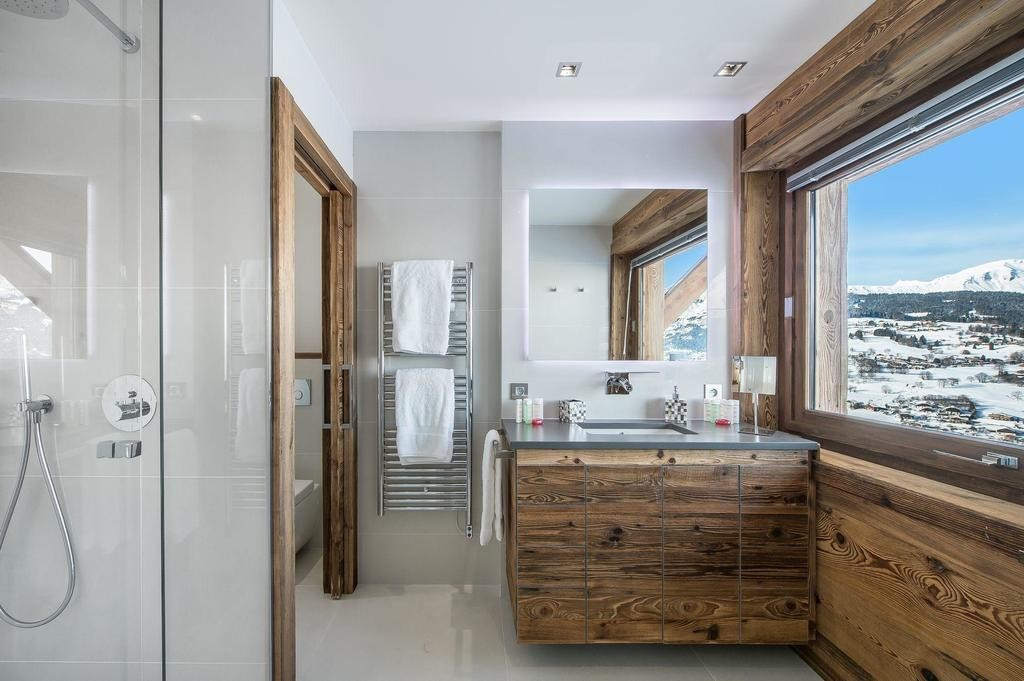 Image 10   Spectacular Ski Chalet for Sale in Megeve with 7 Bedrooms, Pool and Home Cinema 203157
