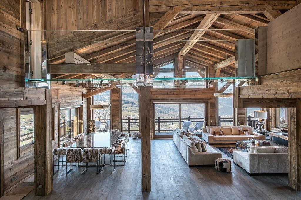 Image 2   Spectacular Ski Chalet for Sale in Megeve with 7 Bedrooms, Pool and Home Cinema 203157