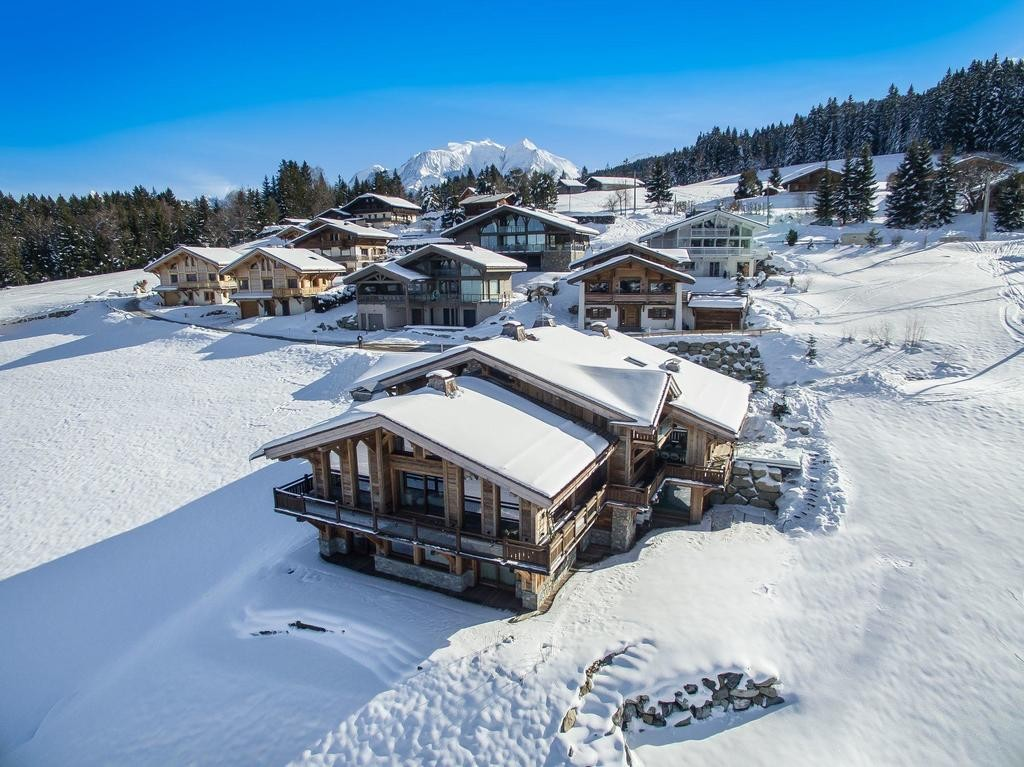 Image 3   Spectacular Ski Chalet for Sale in Megeve with 7 Bedrooms, Pool and Home Cinema 203157