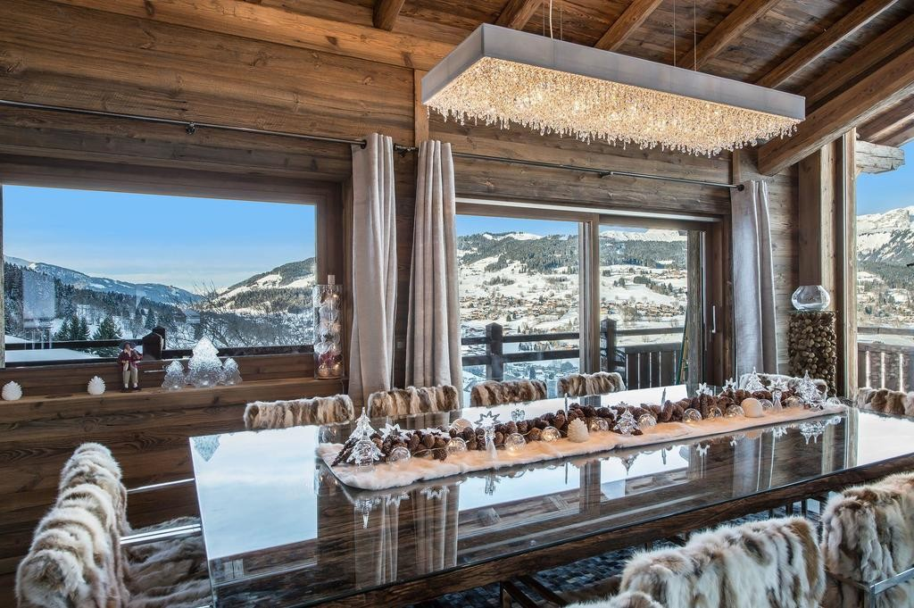 Image 4   Spectacular Ski Chalet for Sale in Megeve with 7 Bedrooms, Pool and Home Cinema 203157