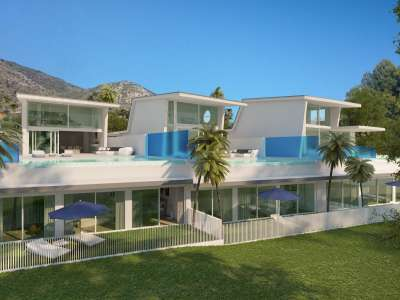 Image 2   4 bedroom villa for sale, Reserva del Higueron Resort, Benalmadena, Malaga Costa del Sol, Andalucia 206077