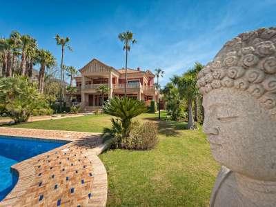 Image 1   8 bedroom villa for sale with 0.5 hectares of land, Sierra Blanca, Marbella, Malaga Costa del Sol, Marbella Golden Mile 206362