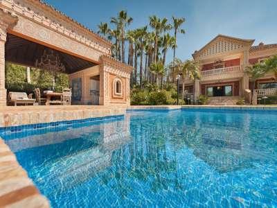Image 2   8 bedroom villa for sale with 0.5 hectares of land, Sierra Blanca, Marbella, Malaga Costa del Sol, Marbella Golden Mile 206362