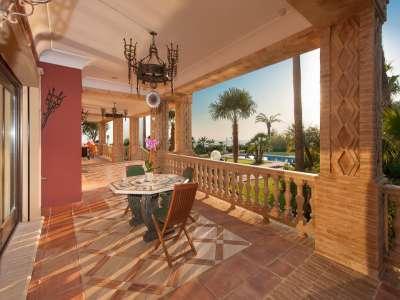 Image 5   8 bedroom villa for sale with 0.5 hectares of land, Sierra Blanca, Marbella, Malaga Costa del Sol, Marbella Golden Mile 206362