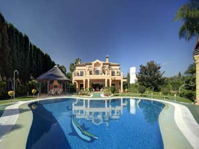 Image 2 | Five Bedroom Mansion for Sale close to Puerto Banus with Staff Quarters  207677