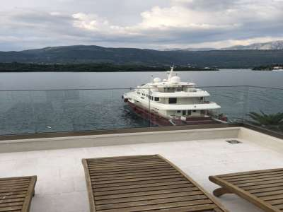 Image 1 | Superb 6 Bedroom Waterfront Villa for Sale close to Tivat, Montenegro with Private Beach and Yacht Mooring 209315