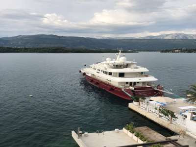 Image 3 | Superb 6 Bedroom Waterfront Villa for Sale close to Tivat, Montenegro with Private Beach and Yacht Mooring 209315