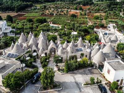Image 2 | Superb Trulli Complex Hotel for 40 guests with Pool for Sale in Puglia, Italy. 209393