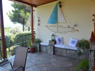 Image 17 | Beautiful villa for Sale which sleeps 12 close to the sea in Agiokampos, Greece 209614