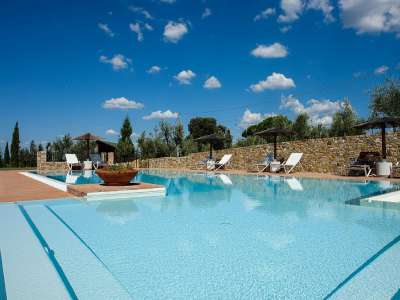 Image 3   7 bedroom villa for sale with 10 hectares of land, Montaione, Florence, Chianti Wine Region 209773