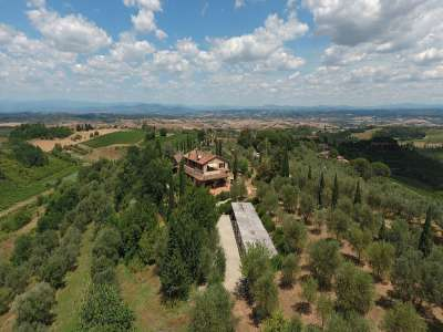 Image 5   7 bedroom villa for sale with 10 hectares of land, Montaione, Florence, Chianti Wine Region 209773