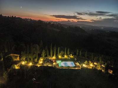 Image 6   7 bedroom villa for sale with 10 hectares of land, Montaione, Florence, Chianti Wine Region 209773